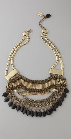 Jenny Bird Treasure Collar Necklace - StyleSays