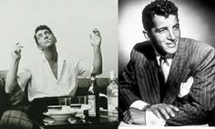 Dean Martin -- handsome, funny, charming AND he could sing. And from Steubenville, as well.