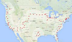 Tesla charging stations are now live coast to coast!