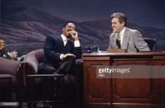 Actor/Comedian Eddie Murphy during an interview with host Jay Leno on July 1992 Eddie Murphy, Comedians, Jay, Interview, Actors, Actor