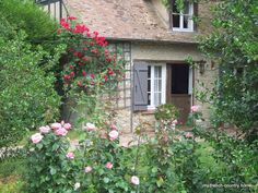 A French country guest cottage. This is exactly the cottage I want. Minus bugs.