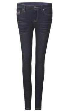 Black Classic Whiskered Skinny Jeans - Sheinside.com