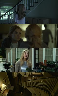 Gone Girl (2014) David Fincher Costume Designer: Trish Summerville Estante da Sala