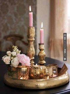So neat - pink and gold | CHECK OUT MORE GREAT VINTAGE WEDDING IDEAS AT WEDDINGPINS.NET | #weddings #vintagewedding #weddingvintage #oldweddingphotos #events #forweddings #iloveweddings #romance #vintage #planners #old #ceremonyphotos #weddingphotos #weddingpictures