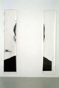 The Ears of Jasper Johns | Michelangelo Pistoletto (I kind of want a print of this for m'boy)