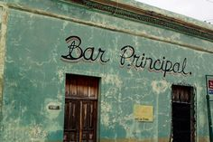 Bar Principal - Mérida- Yucatán • Photography - Romain le Masne