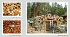 greeningthecube    Lovely homes from natural materials. LOVE