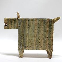 The Dog  2.5 /Ceramic Sculpture/ Unique Ceramic Figurine by arekszwed on Etsy
