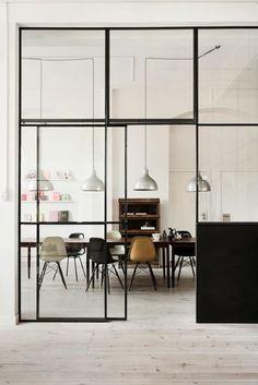 Oficina industrial, Beck Sondergaard #estilo #decoración #oficina