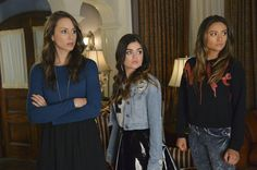 Spencer Hastings,Aria Montgomery,and Emily Fields Pretty Little Liars Season 5 Episode 12 Taking This One To The Grave