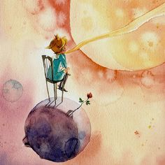 Keep the little prince with those cute backgrounds on your phone - # backgrounds # of your # of you # sweet - Photo Vea - star Tech Image, Paintings Tumblr, Cute Backgrounds, The Little Prince, Little Girl Rooms, Moon Child, Color Inspiration, Illustrators, Iphone Wallpaper