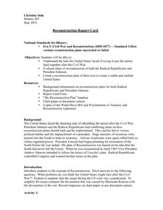 Reconstruction Introduction Activity having students grade the different plans History Lesson Plans, Study History, History Education, History Teachers, Us History, 3rd Grade Social Studies, Social Studies Classroom, Teaching American History, Teaching History