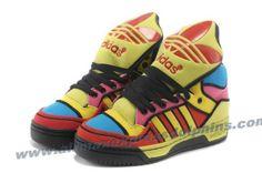Adidas X Jeremy Scott Big Tongue Color Shoes 2013