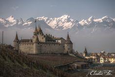 Aigle Castle by Elodie Fa, via 500px