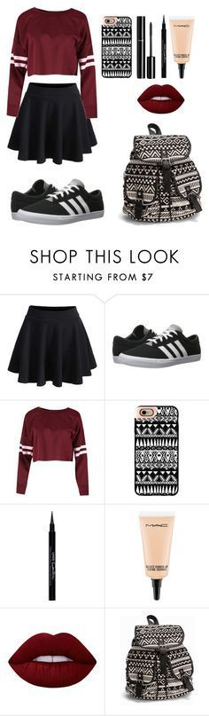 """Pretty Outfit"" by cassi-manzanares ❤ liked on Polyvore featuring WithChic, adidas, Casetify, Chanel, Givenchy, MAC Cosmetics, Lime Crime, NLY Accessories, WishList and LoveIt"