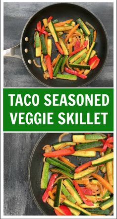 Spice-up taco night with taco seasoned veggies. The perfect healthy side dish to a traditionally carbohydrate heavy meal! Spice-up taco night with taco seasoned veggies. The perfect healthy side dish to a traditionally carbohydrate heavy meal! Taco Side Dishes, Healthy Side Dishes, Side Dishes Easy, Main Dishes, Gourmet Recipes, Dinner Recipes, Healthy Recipes, Dinner Ideas, Healthy Drinks