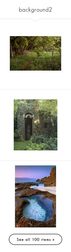 """background2"" by bellsforever38 ❤ liked on Polyvore featuring backgrounds, pictures, photos, landscape, nature, scenery, filler, house, garden and photo"