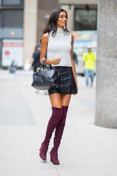 All Things Lovely In This Fall / Winter Outfit. Definitely Must Have One.