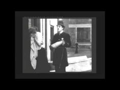 """""""Easy Street""""-1917-Charlie Chaplin- A great comedian, a great silent mov..."""