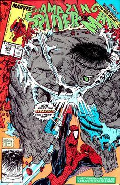 spider-man comic hulk #spiderman  #hulk