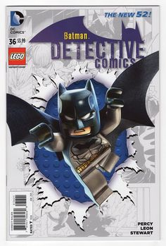 DC Comics LEGO Batman 3 : Beyond Gotham variant cover - Detective Comics Lego Batman 3, Batman Vs, Lego Marvel, Marvel Dc, Lego Dc Comics, Batman Party, Batman Robin, Superhero Party, Batman Stuff