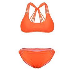 MEXI Women's Vintage 2 Piece Bandage Bandeau Swimsuit Swimwear Bikini Set L Orange Mexi http://www.amazon.com/dp/B010QBTFTO/ref=cm_sw_r_pi_dp_et.Yvb0QK7B1D