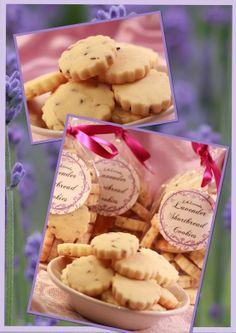 Lila Lavender Blog: Lavender Shortbread Cookies