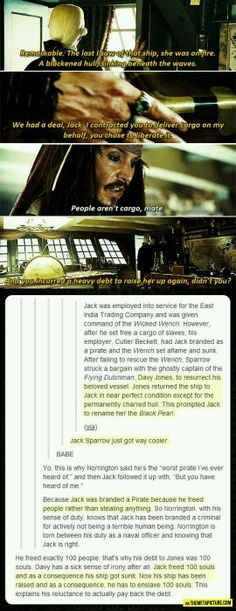 Funny pictures about Why I loved Jack Sparrow. Oh, and cool pics about Why I loved Jack Sparrow. Also, Why I loved Jack Sparrow. Johnny Depp, Daniel Ek, Disney And Dreamworks, Disney Pixar, Funny Disney, Disney Facts, Disney Nerd, Disney Memes, Disney Quotes