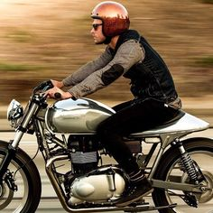 I love riding #motorcycles #motos | caferacerpasion.com