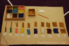 Montessori Math - equivalence!