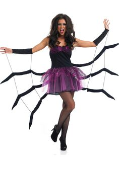 Black Widow Spider Costume - Animal Costumes at Escapade™ UK - Escapade Fancy Dress on Twitter: @Escapade_UK
