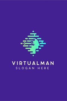 Virtualman Technology Logo template Details: Fully Editable Vector Logo EPS and AI files Easy to Change Color and Text -This logo can be customized for an extra fee. Technology Hacks, Technology Integration, Cool Technology, Medical Technology, Computer Technology, Educational Technology, Technology Design, Technology Apple, Technology Quotes