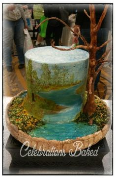 Hand painted, cocoa butter - Cake by Celebrations Baked