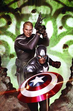 Captain America Hail Hydra 5 of 5 (Adi Granov) textless