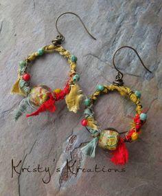 Earrings Everyday: Gypsy Hoops