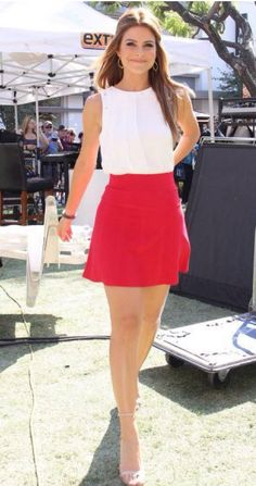 Gorgeous in red mini