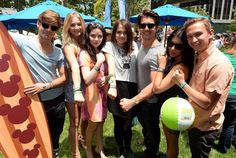 "Nice ""Teen Beach Movie"" Cast At The 24th Annual ""A Time For Heroes"" Event June 2, 2013"