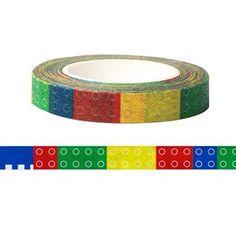 Lego Washi Fun Tape 8mm X 15M by pikwahchan on Etsy, $2.60