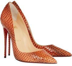 Christian Louboutin New So Kate 120 Watersnake Rocaille 35.5 5.5 Snakeskin Rihanna Orange, Papaye Pumps. Get the must-have pumps of this season! These Christian Louboutin New So Kate 120 Watersnake Rocaille 35.5 5.5 Snakeskin Rihanna Orange, Papaye Pumps are a top 10 member favorite on Tradesy. Save on yours before they're sold out!