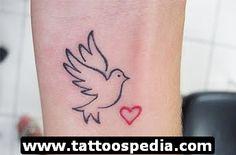Dove Tattoos 9 - http://tattoospedia.com/dove-tattoos-9/