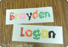 First day name activity
