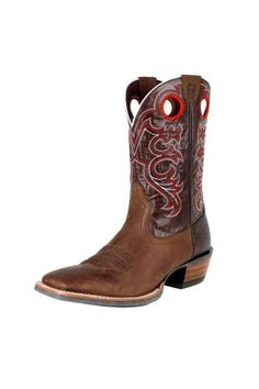 Ariat Crossfire Weathered Brown Cowboy Boots - Urban Western Wear - Father's Day Gift