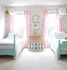 Charming Girlu0027s Bedroom With Amy Howard Paints Available At Ace