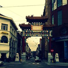 Barrio chino Amberes