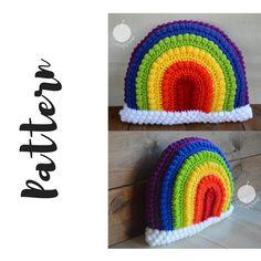 Crochet Rainbow Pillow Pattern, Rainbow Pillow Pattern, Crochet Rainbow Pattern, Crochet Pillow Pattern, DIGITAL DOWNLOAD, Rainbow Pattern by ACraftyConcept on Etsy https://www.etsy.com/listing/551115115/crochet-rainbow-pillow-pattern-rainbow