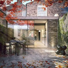 Looking forward to our latest East London extension project starting on site this month #concrete #sootybricks.  @marcosalonsoviz