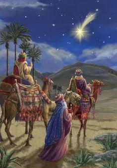 The Star of Bethlehem.The three wise men Christmas Jesus, Christmas Nativity Scene, Meaning Of Christmas, Christmas Scenes, Christmas Pictures, Christmas Holidays, Merry Christmas, Nativity Scenes, The Nativity