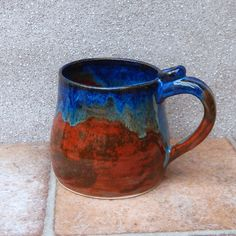 Beer Stein Tankard Mug Hand Thrown Stoneware Pottery by Caractacus Pots on Gourmly