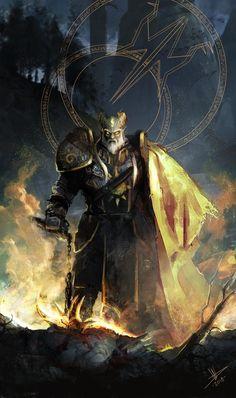 World of Warcraft Fantasy Warrior, Fantasy Rpg, Fantasy Artwork, Fantasy World, Dark Fantasy, Final Fantasy, Draenei Paladin, Wow Draenei, Art Warcraft