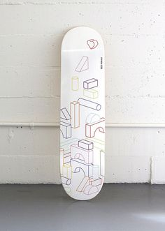 skate deck for Plywood For Good by Tom Crabtree